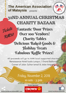 Read more about the article AAM's 32nd Annual Christmas Charity Bazaar