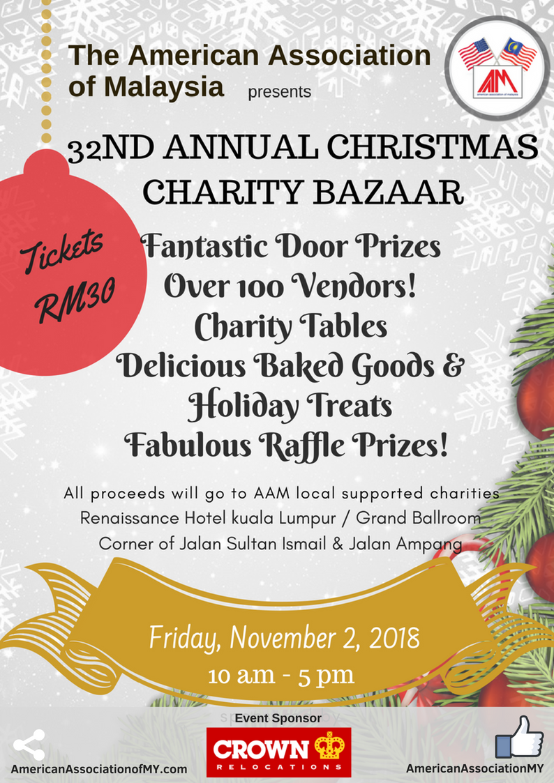 AAM's 32nd Annual Christmas Bazaar