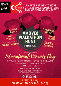 Read more about the article #Move8 Int'l Women's Day Walkathon for Home of Peace