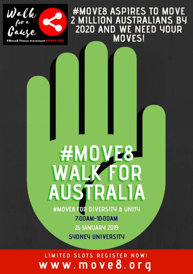 #Move8 for Australia