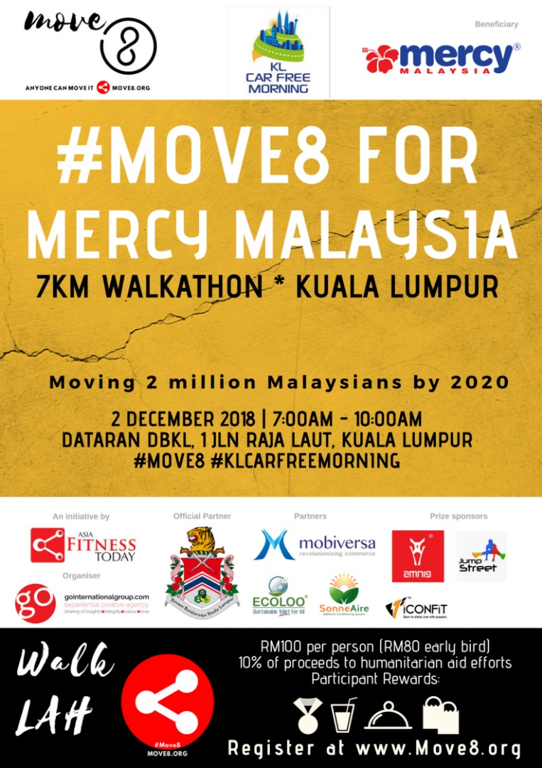 #Move8 For Mercy Malaysia