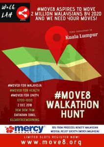 Read more about the article #Move8 for Mercy Malaysia